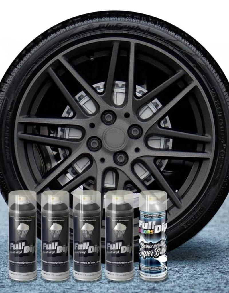 FullDip FullDip® Felgen-paket Hyper Black metallic