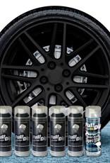 FullDip Velgenset zwart + 1K hoogglans coating
