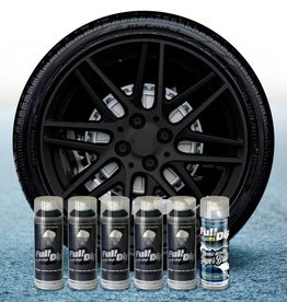 FullDip Rims package  + 1K Black gloss