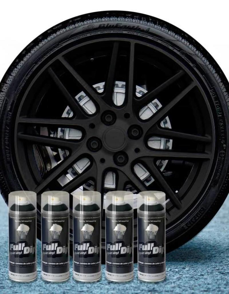 FullDip Rims package  Black + 1K mat-satin coating