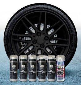 FullDip Rims package  Black + 1K mat-satin coating