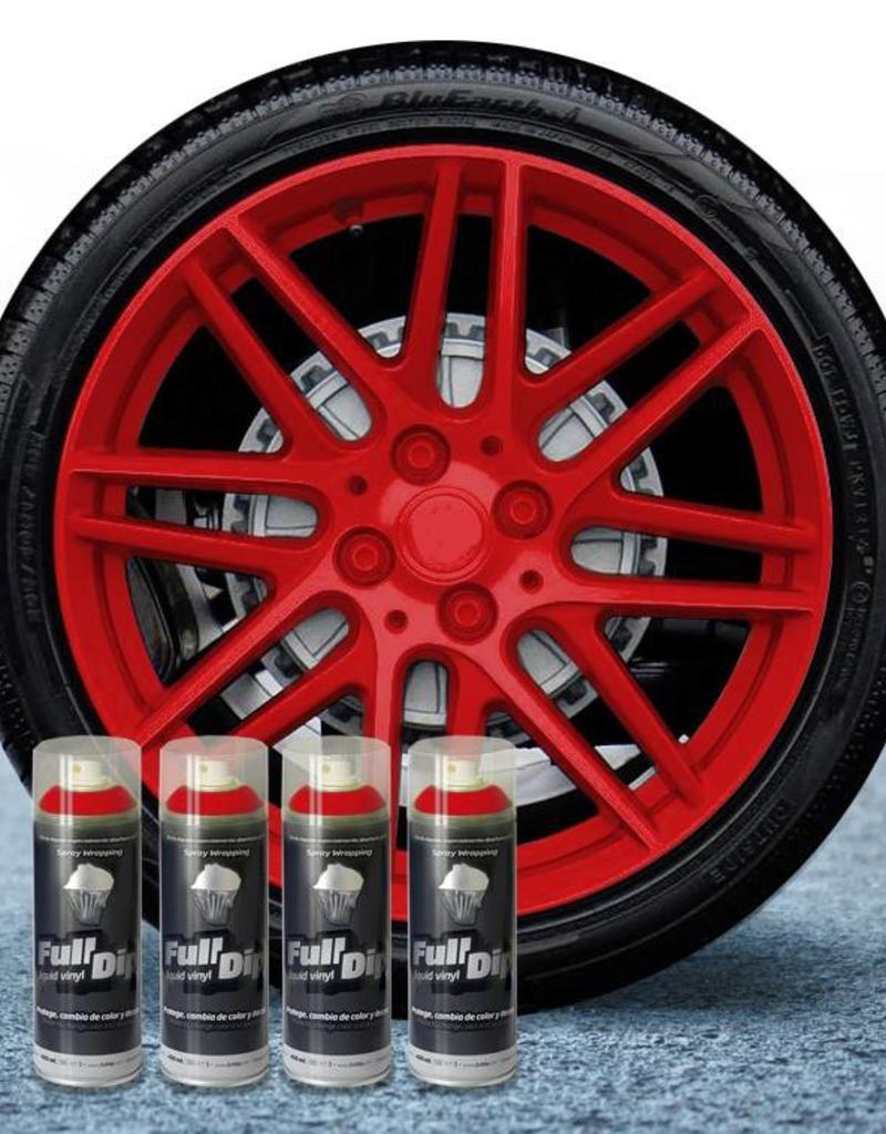 FullDip rims package red