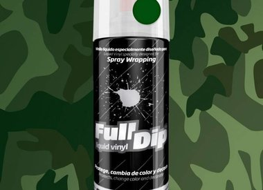 Camouflage spray 400ml by Full Dip.
