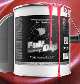 FullDip Rojo Metalized 4L
