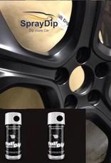 FullDip Mat zwart velgenset 1200ml