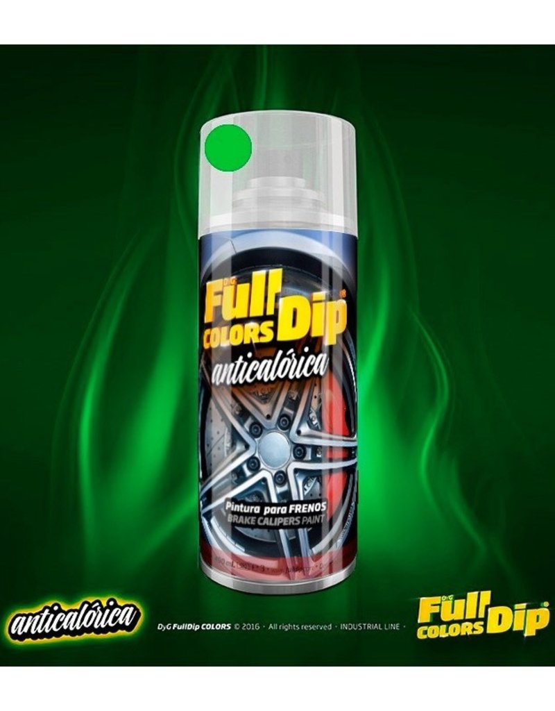 FullDip Hittebestendige dip Lime green 400ml