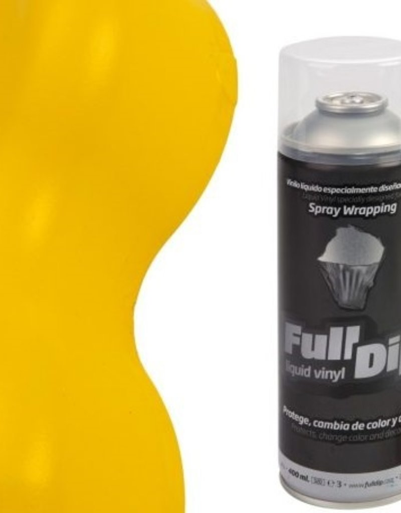 FullDip Spray gelb matt 400ml