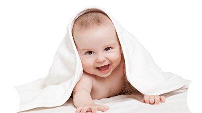 Babyhaut richtig reinigen und pflegen