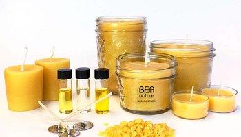 Bienenwachskerzen selber machen