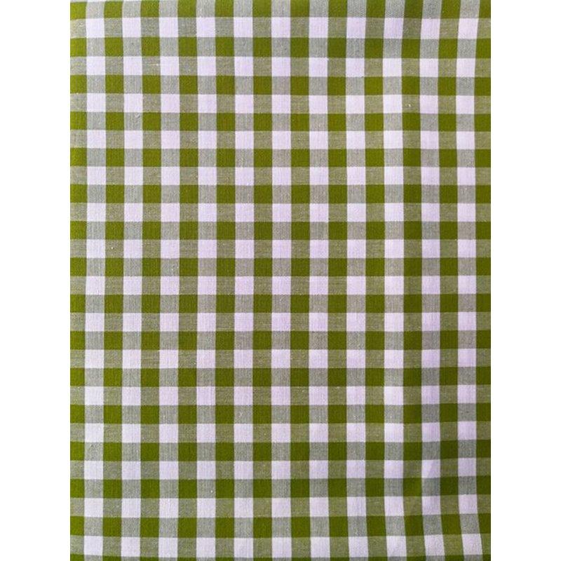 Baumwolle Stoff Grün Kariert