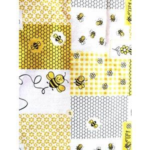 Baumwolle Stoff  Biene