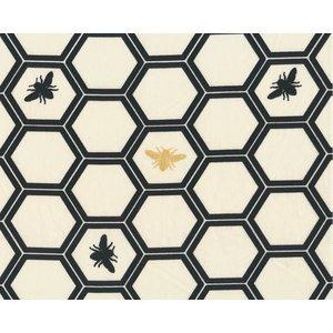 Bio Baumwolle Stoff Bienenwaben