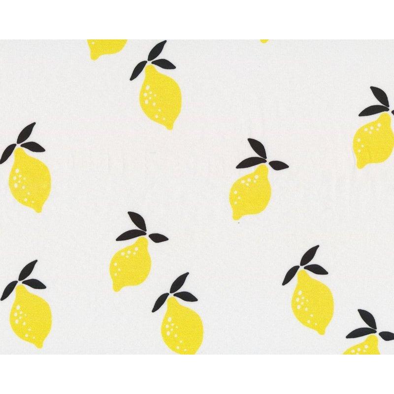 Bio Baumwolle Stoff Zitrone