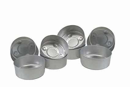 Teelicht-Aluminium-Hülle