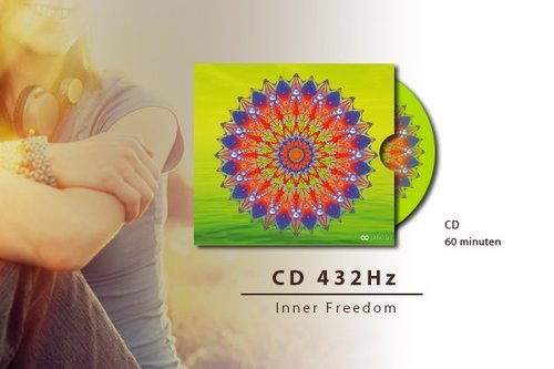Ambient CD & Energy Coaster + Card | Inner Freedom