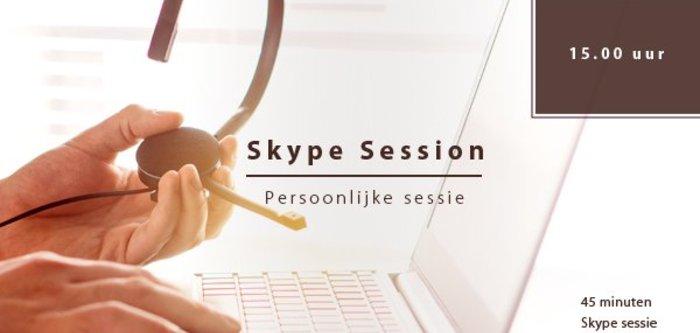 Skype sessie woensdag 30-01 | 15hr.
