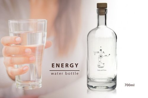 Energy Bottle Natural Time 700 ml.