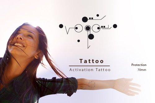 Body Activation Tattoo | BESCHERMING