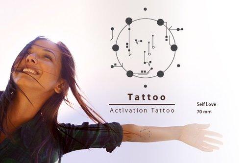 Body Activation Tattoo EIGENLIEFDE