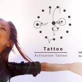Body Activation Tattoo SELF HEALING