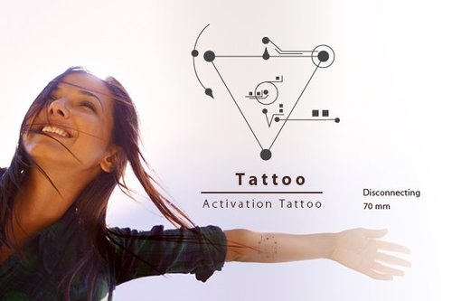 Body Activation Tattoo | DISCONNECTING