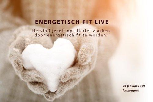 ENERGETISCH FIT    Live Antwerpen