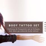 Body Activation Tattoo Black December set