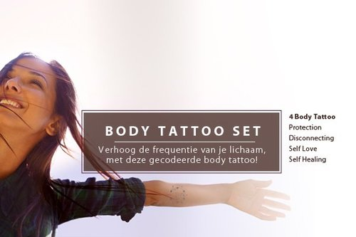 Body Activation Tattoo set actie
