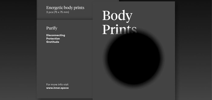 inner.space energetic body prints purify