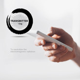Transmitter Device Tag | 80mm White
