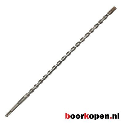 Betonboor 8 mm 4-snijder SDS-plus 450 mm lang