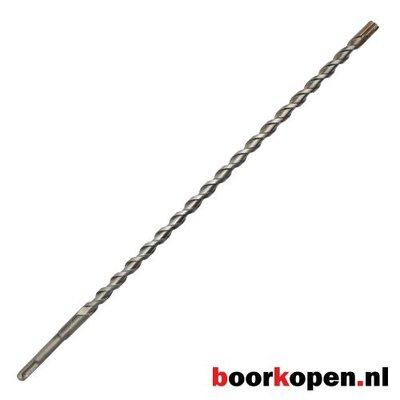 Betonboor 22 mm 4-snijder SDS-plus 450 mm lang