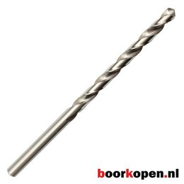 Metaalboor 4,8 mm HSS geslepen 132 mm lang 10 stuks