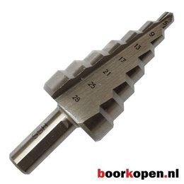 Stappenboor 5-28 mm