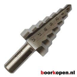 Stappenboor 6-25 mm