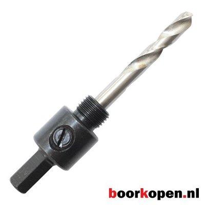 Zeskant houder 9,5mm metaal gatzagen 14-30 mm