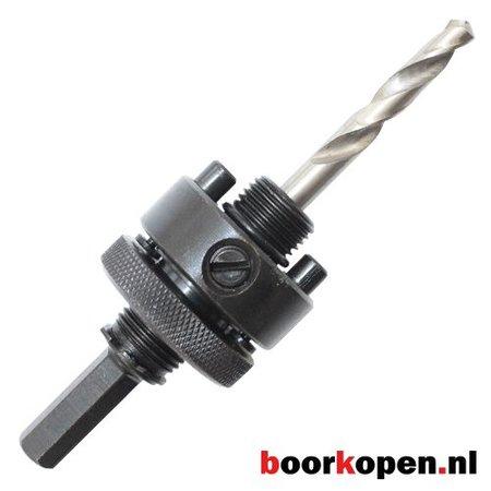 Snelwissel zeskant houder metaal gatzagen 32-210 mm