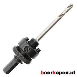 Snelwissel zeskant houder TCT gatzagen 32-152 mm