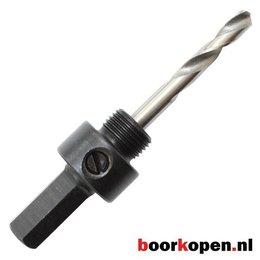 Zeskant houder metaal gatzagen 32-210 mm