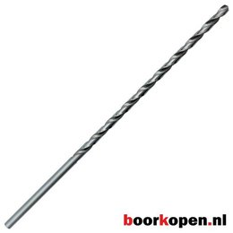 Metaalboor 8,5 mm HSS geslepen 240 mm lang