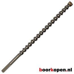 Hamerboor 24 mm SDS-max 4-snijder premium 520 mm lang