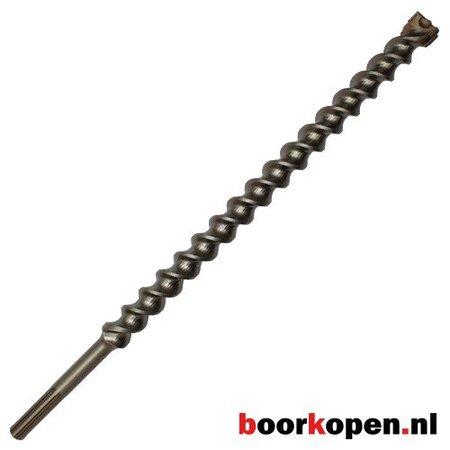 Hamerboor 40 mm SDS-max 4-snijder premium 1320 mm lang