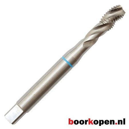 Machinetap M12 blinde gaten HSS  M35 5% cobalt