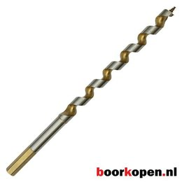 Hardhoutboor 6,5 mm 230 mm lang