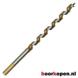 Hardhoutboor 22 mm 230 mm lang
