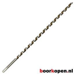 Hardhoutboor 12,5 mm 460 mm lang