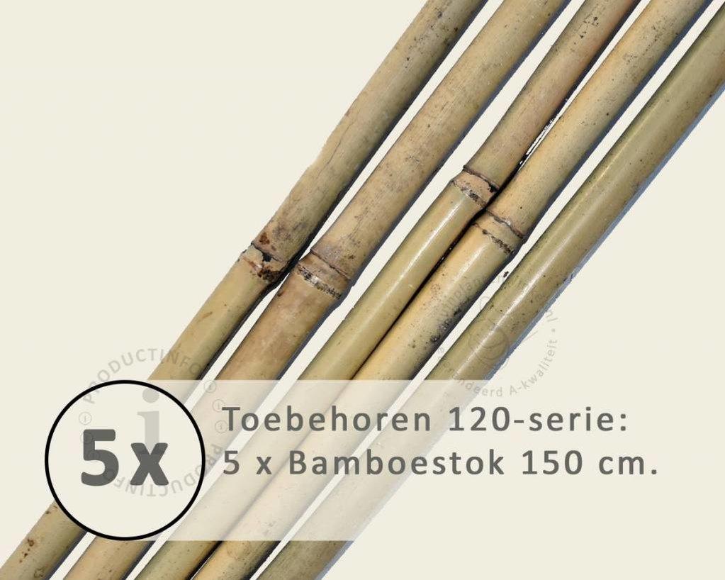 Toebehoren Leibomen 120 los bestellen - Bamboestok