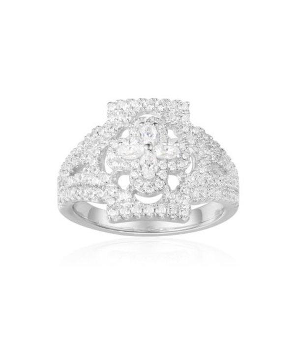 APM MONACO Gotique - A17646OX -  ring  -  zilver 925% - zirconium