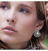 APM MONACO Pomelline - AE9711XPL - boucles d'oreilles - argent 925% - perles - zirconium