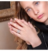 APM MONACO Les Cascades - A17631OX - Ring - Silber 925% - Kristalle